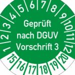 DGUV Vorschrift 3 für Service